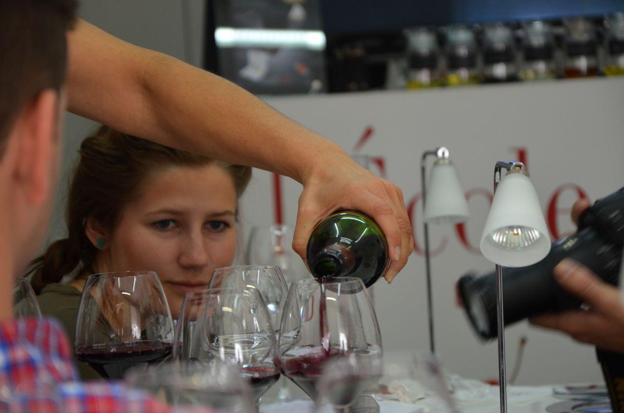 Blending Bordeaux at the Ecole du Vin de Bordeaux